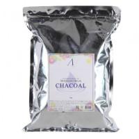 Anskin маска альгинатная для кожи с расширенными порами charcoal modeling mask 1 kg