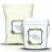 Anskin маска альгинатная для проблемной кожи herb lemongrass  modeling mask 1 kg