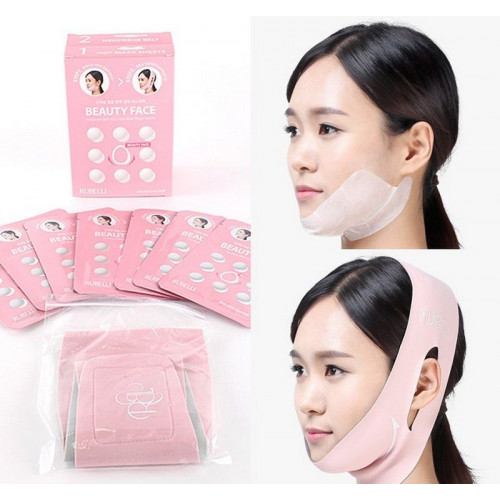 Rubelli Набор масок + бандаж для подтяжки контура лица Beauty Face Premium