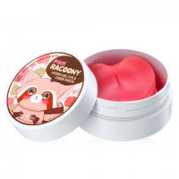 Secret key Патчи для глаз и скул гидрогелевые Pink Racoony Hydro-Gel Eye & Cheek Patch