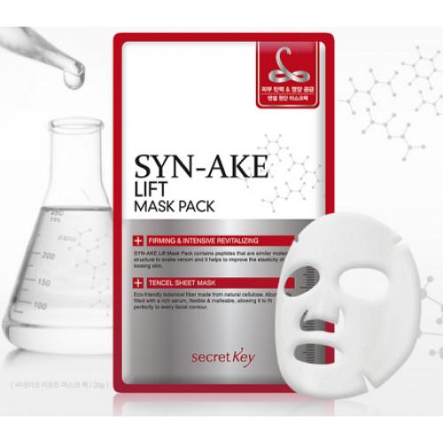 Secret Key Маска для лица с пептидом змеиного яда Syn-Ake Lift Mask Pack