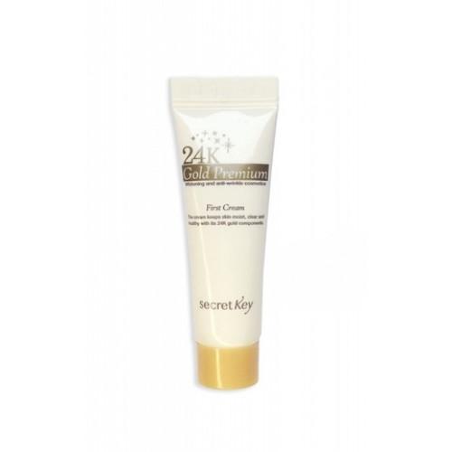 Secret key крем для лица  питательный 24K Gold Premium First Cream 10 мл