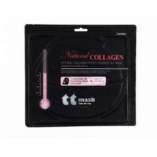 Anskin Маска для лица гидрогелевая с коллагеном Natural Collagen Hydro Essence Gel Mask