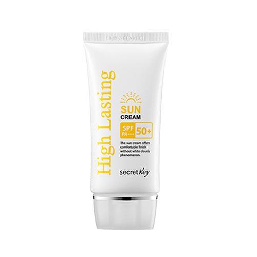 Secret Key Крем солнцезащитный антивозрастной High Lasting Sun Cream SPF 50++ РА+++