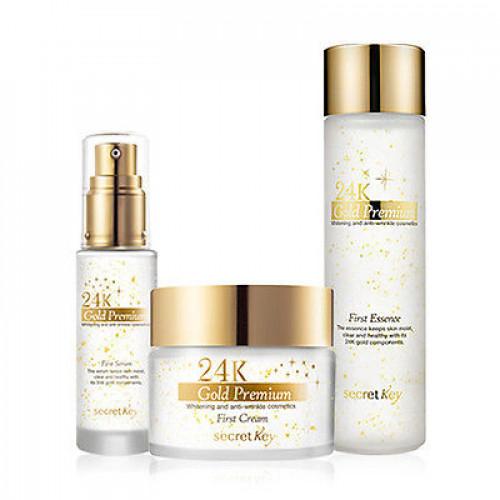 Secret Key Крем для лица  питательный 24k Gold Premium First Cream