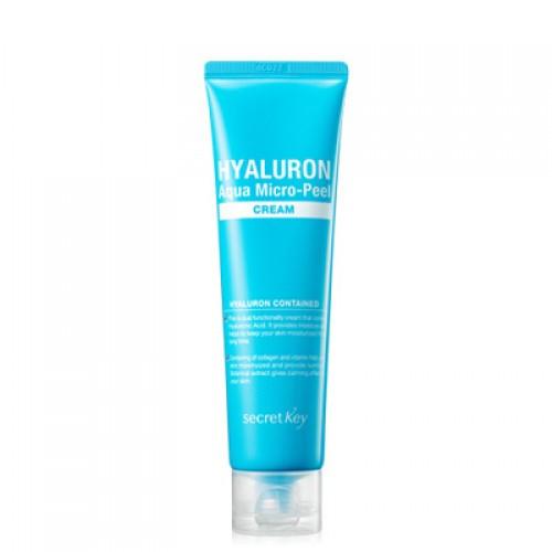 Secret key Крем гиалуроновый Hyaluron Aqua Micro-Peel Cream