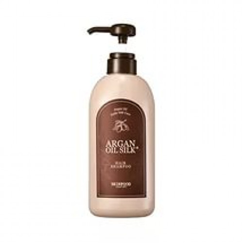 Skinfood шампунь для вослос с аргановым маслом argan oil silk plus shampoo