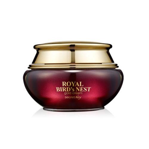Secret key Королевский крем с экстрактом ласточкиного гнезда и 24к золота Royal Bird's Nest Gold Cream