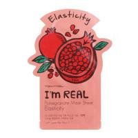 Tony moly маска для лица с экстрактом граната i'm real pomegranate mask sheet elasticity