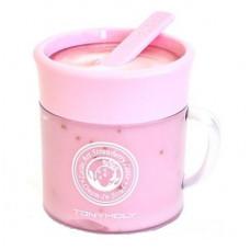 Tony moly крем-скраб для лица клубничный latte art strawberry scrub