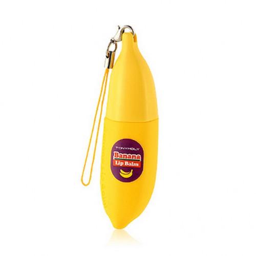 Tony moly бальзам для губ банан magic food banana lip balm