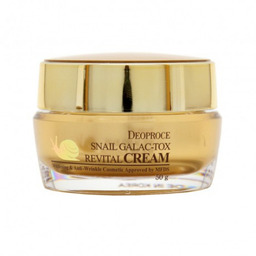 Deoproce Крем с муцином улитки Snail Galac-Tox Revital Cream