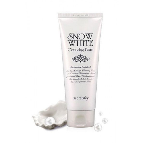 Secret key Пенка для умывания осветляющая Snow White Cleansing Foam