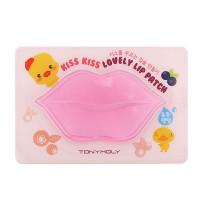 Tony Moly Патчи для губ увлажняющие Kiss Kiss Lovely Lip Patch