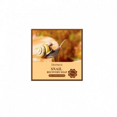 Deoproce мыло с улиточным муцином soap snail