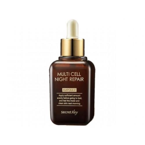 Secret key Сыворотка для лица ночная Multi Cell Night Repair Ampoule