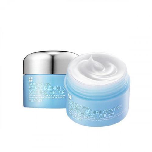 Mizon крем-гель для жирной и проблемной кожи acence blemish control soothing gel cream