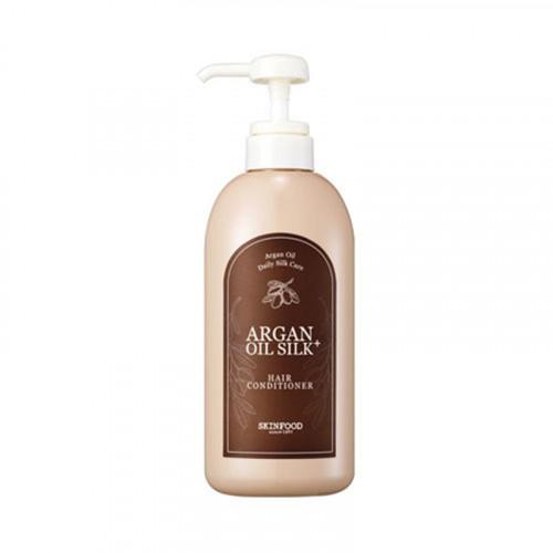 Skinfood кондиционер для волос с аргановым маслом argan oil silk plus hair conditioner