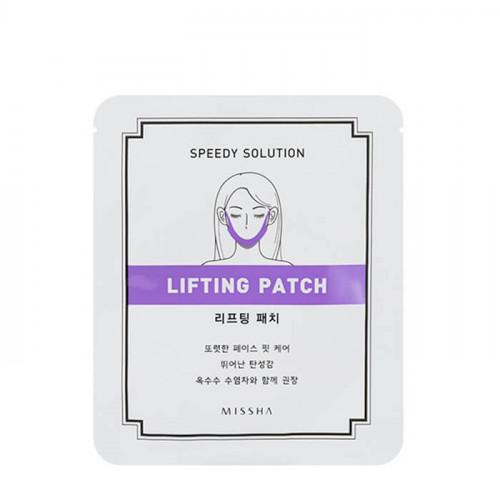 Missha патч для контура лица speedy solution lifting patch