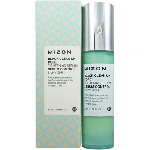 Mizon сыворотка для сужения пор black clean up pore tightening serum