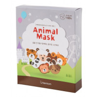 Berrisom Маска тканевая набор Animal Mask Series 7p set