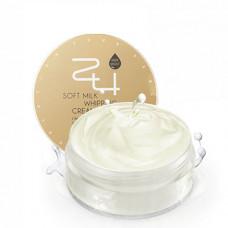 Mizon крем на сливках увлажняющий 24 soft milk whipping cream