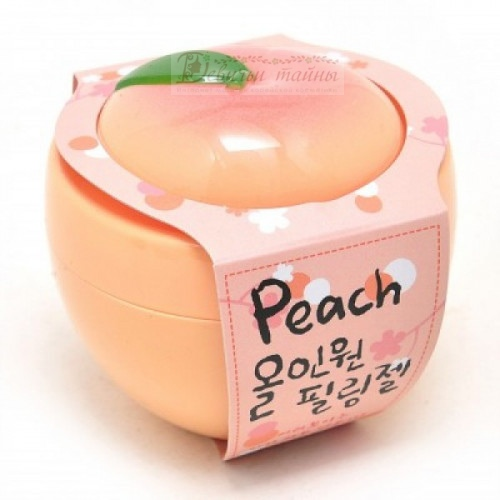 Baviphat Пилинг-скатка персиковая Все-в-одном Peach All-in-one Peeling gel
