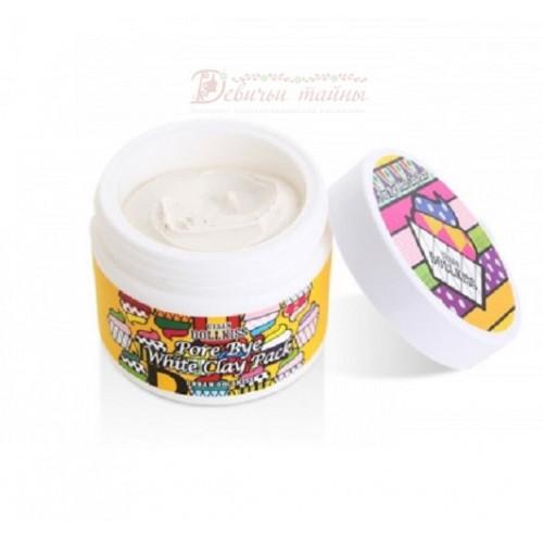 Baviphat Маска очищающая с белой глиной Urban Dollkiss Pore Bye White Clay Pack
