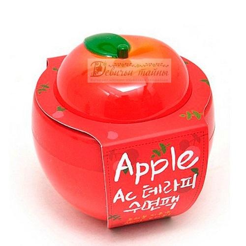 Baviphat Маска осветляющая с экстрактом яблока Urban Dollkiss New Tree Apple Instant Tone-up Brightening Pack