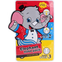 Baviphat Маска против черных точек Urban Dollkiss 3-Step Elephant Nose Pack