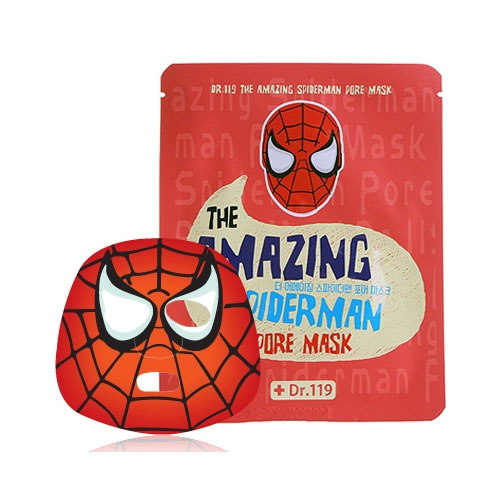 Baviphat маска для ухода за порами лица Dr.119 The Amazing Spiderman pore Mask