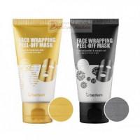 Berrisom Маска-пленка для лица Face Wrapping Peel-Off Mask Black