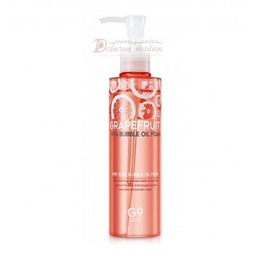 Berrisom Пенка для умывания с экстрактом грейпфрута G9 Skin Grapefruit Vita Bubble Oil Foam