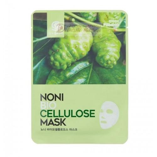 Berrisom Маска для лица тканевая с экстрактом нони G9skin Noni Biocellulose Mask