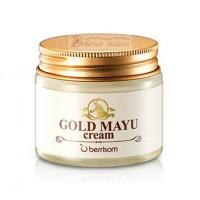Berrisom Крем для лица с лошадиным жиром Gold Mayu Cream