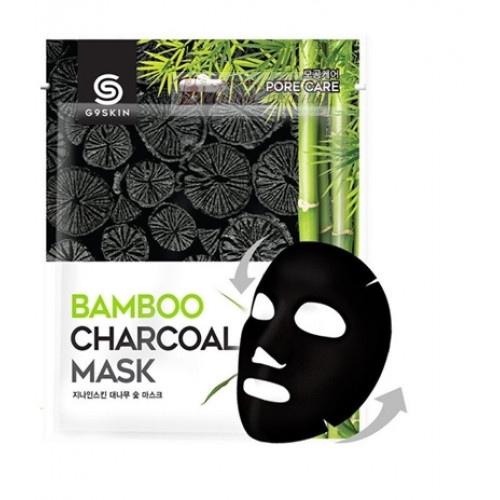 Berrisom Маска для лица тканевая с бамбуковым углем G9skin Bamboo Charcoal
