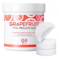 Berrisom Ватные диски для пилинга G9 Skin Grapefruit Vita Peeling Pad