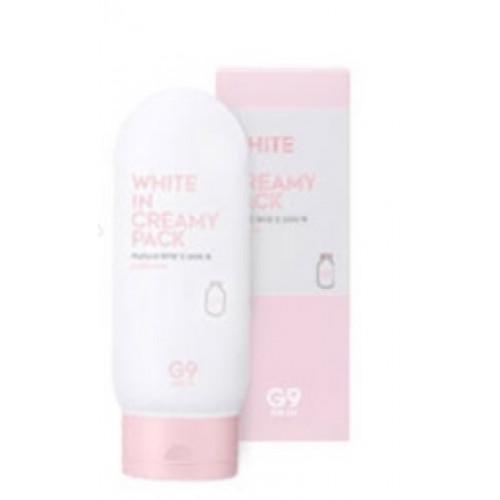 Berrisom Маска для лица и тела осветляющая White In Creamy Pack