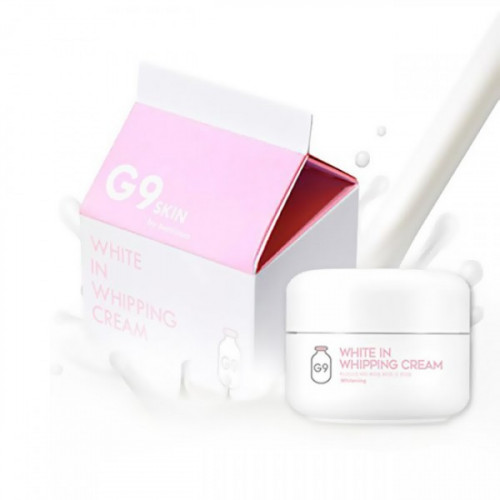 Berrisom Крем для лица осветляющий с экстрактом молочных протеинов G9 White In Whipping Cream