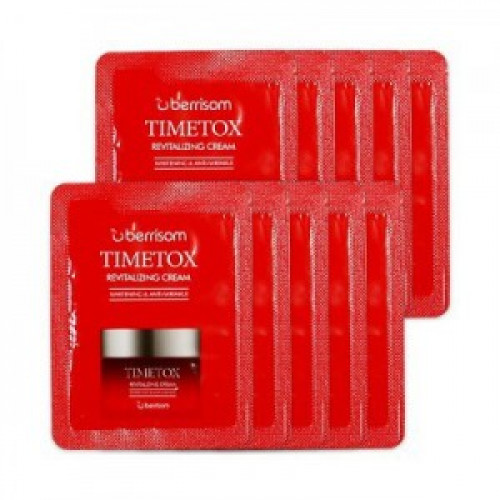 Berrisom Крем для лица антивозрастной Timetox Revitalizing Cream (пробник)