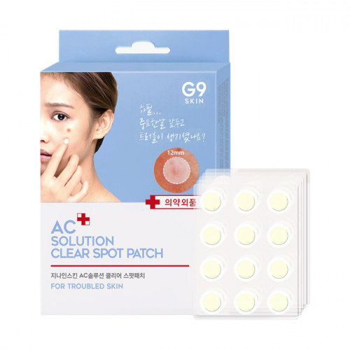 Berrisom Патчи акне AC Solution Acne Clear Spot Patch