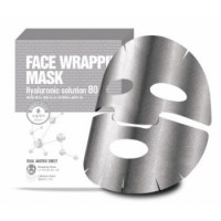Berrisom Маска для лица с гиалуроновой кислотой Face Wrapping Mask Hyaruronic Solution 80