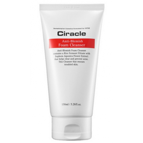 Ciracle пенка для умывания для жирной кожи anti-blemish foam cleanser