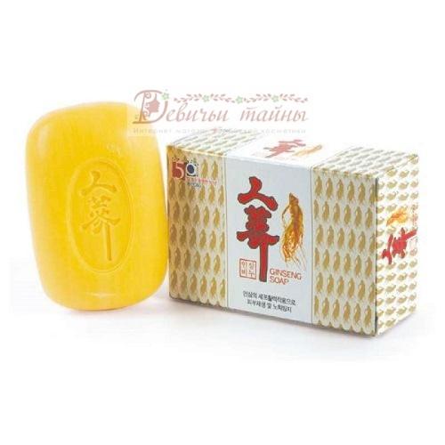 Clio мыло туалетное женьшень ginseng soap