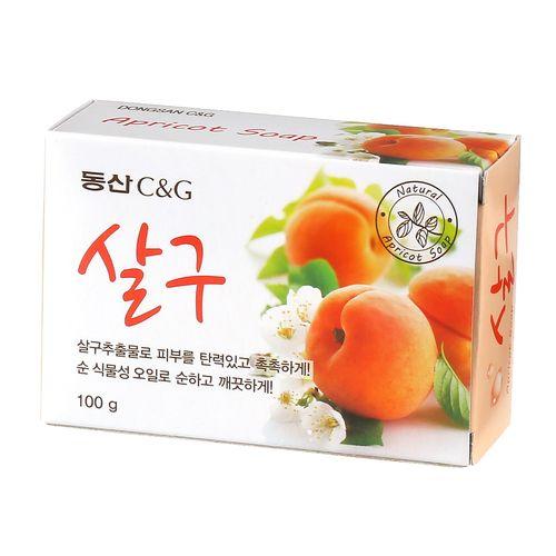 Clio мыло туалетное абрикос apricot soap