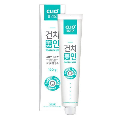 Clio зубная паста geonchi beauty toothpaste