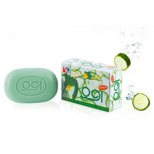 Clio мыло огуречное new cucumber soap