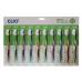Clio зубная щетка набор 10шт denti-mate normal 5+5