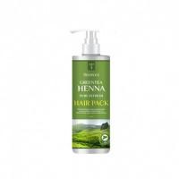 Deoproce Маска для волос с зеленым чаем и хной Green Tea Henna Pure Refresh Hair Pack