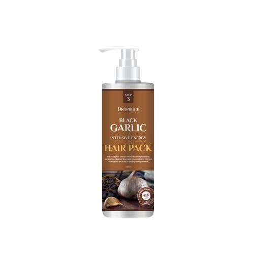 Deoproce Маска для волос с экстрактом черного чеснока Black Garlic Intensive Energy Hair Pack